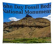 Oregon - John Day Fossil Beds National Monument Sheep Rock 2 Tapestry