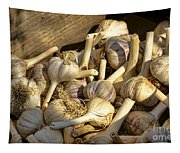 Organic Garlic Tapestry