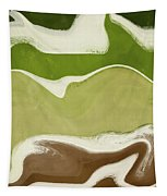 Organic Wave 1- Art By Linda Woods Tapestry