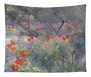 Oriental Poppies Tapestry