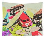 Ornamenting Hawaii Tapestry