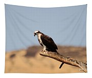 Osprey Waiting For Fish Tapestry