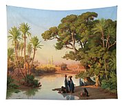 Outskirts Of Cairo Tapestry