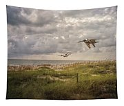 Over The Dunes Tapestry