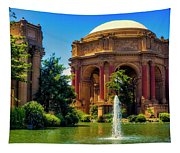 Palace Of Fine Arts Lagoon Tapestry