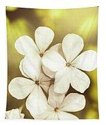 Pale Wildflowers Tapestry