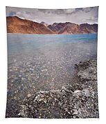 Pangong Tso Tapestry by Whitney Goodey