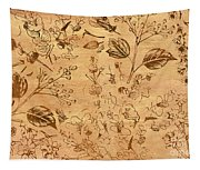 Paper Petal Patterns Tapestry