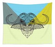 Party Buffalo Mesh Tapestry