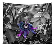 Passion Flower Only Tapestry