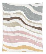 Pastel Waves 2- Art By Linda Woods Tapestry