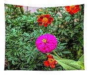 Pastel Wild Flowers Tapestry