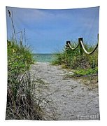 Pathway To The Beach Tapestry