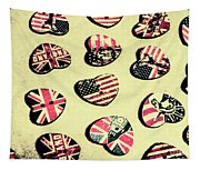 Patriotic Picks Tapestry