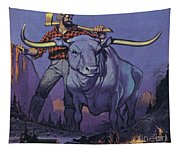 Paul Bunyan And Babe  Tapestry