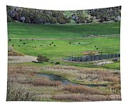 Peaceful Farm Tapestry