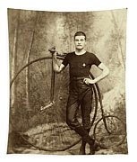 Penny Farthing - High Wheel - Ordinary   Tapestry