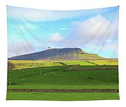 Penyghent In Yorkshire Dales National Park North Yorkshire Tapestry