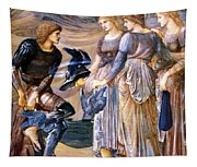 Perseus And The Sea Nymphs 1877 Tapestry