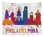 Philly Color Splash Tapestry