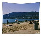 photograph of thid beach which is located in Stanley Park Vancouver. Third beach is a popular location for tourists and locals alike. Tapestry