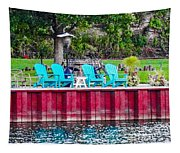 Pick A Seat Tapestry