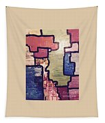 Pieces Of The Puzzle Tapestry
