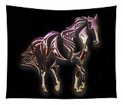 Purple Horse Tapestry