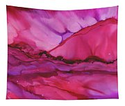 Pink Light Of Dawn Tapestry