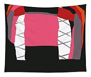 Pink Orange Tapestry