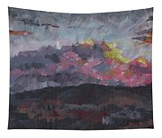 Pink Sky Delight Tapestry