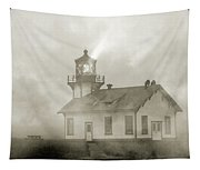 Point Cabrillo Lighthouse California Sepia Tapestry