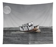 Point Reyes California Shipwreck Tapestry