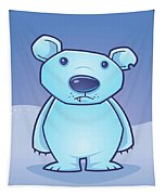 Polar Bear Cub Tapestry