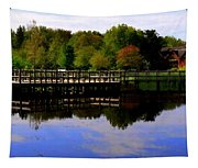 Pond Refletions Tapestry