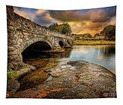 Pont Pen-y-llyn Bridge Snowdonia Tapestry