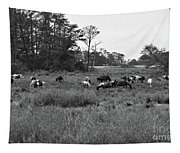 Pony Herd Bnw Tapestry