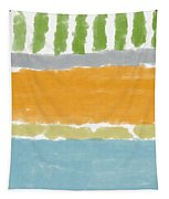 Poolside 1- Art By Linda Woods Tapestry