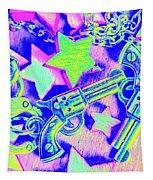 Pop Art Police Tapestry