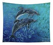 Porpoise Pair Tapestry