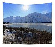 Portage Lake Alaska Tapestry