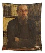 Portrait Of Kostichev Tapestry