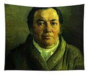 Portrait Of Nikolay O Ge Artist Father Tapestry