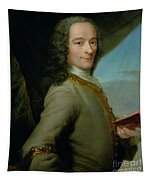 Portrait Of The Young Voltaire  Tapestry