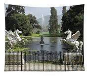 Powerscourt House Terrace And Fountain Tapestry