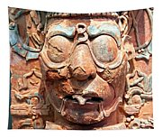 Pre-columbian Eye Glasses, Palenque, Mexico Tapestry