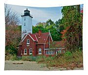 Presque Isle Lighthouse Tapestry
