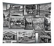 Provincetown Cape Cod Massachusetts Collage Pa Bw Tapestry