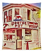 Provincetown Tradition Lobster Pot Tapestry