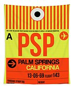 Psp Palm Springs Luggage Tag I Tapestry